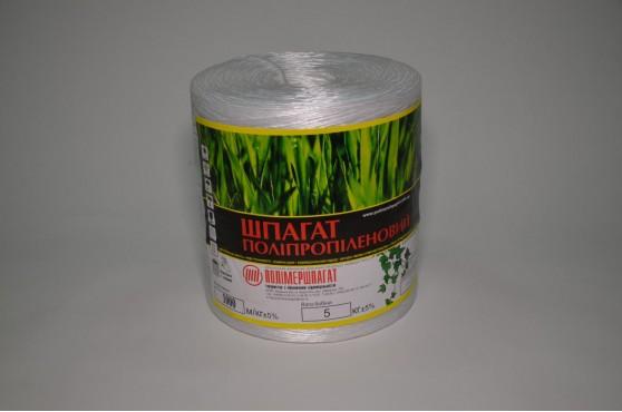 Нитка поліпропіленова кручена 1000 тех (1000 м/кг)