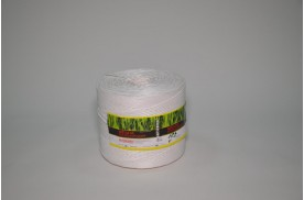 Шпагат поліпропіленовий кручений 2500 тех (ас.1 кг/400 м, кількість м/бобіні 800)