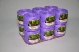 Нитка поліпропіленова кручена 1000 тех ( ас. 1кг/ 1000 м, кількість м /бобіні 400 ) фіолет/пак.12 шт