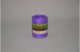 Нитка поліпропіленова кручена 1000 тех ( ас. 1кг/ 1000 м, кількість м /бобіні 600 ) фіолетова