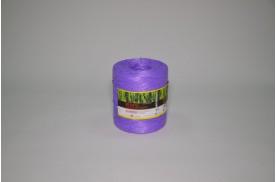 Нитка поліпропіленова кручена 1000 тех ( ас. 1кг/ 1000 м, кількість м /бобіні 900 ) фіолетова