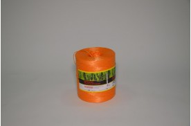 Нитка поліпропіленова кручена 1000 тех ( ас. 1кг/ 1000 м, кількість м /бобіні 900 ) помаранчова